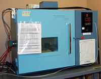 Thermal testing chamber